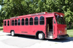 party bus trolley