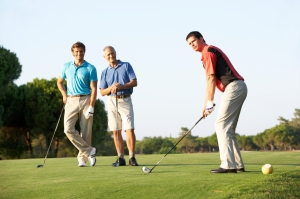 Golfing and networking