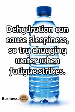 dehydration hack