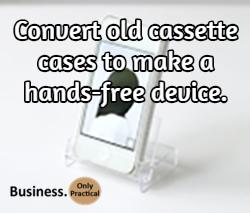 hands free cassette hack