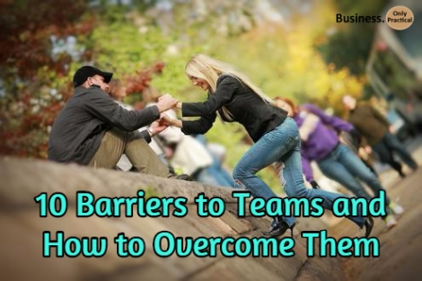 overcoming team barriers